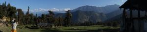 The Himalayan Mountain range, as I saw it in 2011